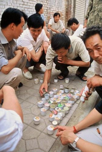 Zdjęcia: Xi'an, Chiny, Sprzedaż karaluchów na wyścigi, CHINY