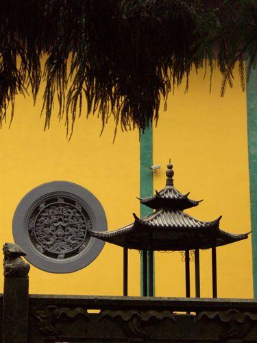 Zdjęcia: Hangzhou, ściana klasztoru, CHINY