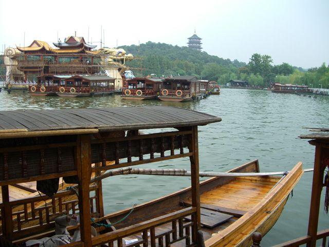 Zdjęcia: Hangzhou, Łodzie na Jeziorze Zachodnim, CHINY
