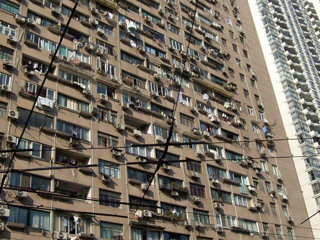 Zdjęcia: Shanghai, a wokół same blokowiska..., CHINY