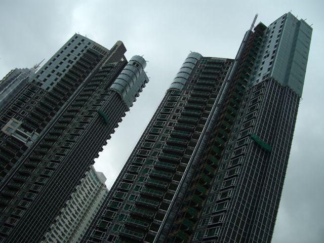 Zdjęcia: Shanghai, jeszcze nie zamieszkałe bloki na Pudong, CHINY