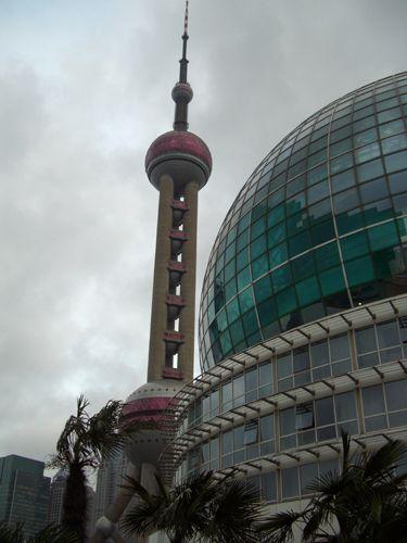 "Zdj�cia: Shanghai, ""Per�a Orientu"" na Pudong, CHINY"