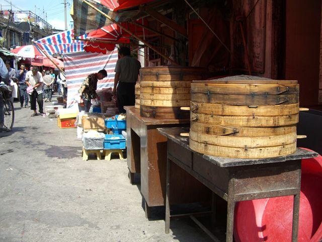 Zdjęcia: Shanghai, na każdym kroku coś można zjeść, CHINY