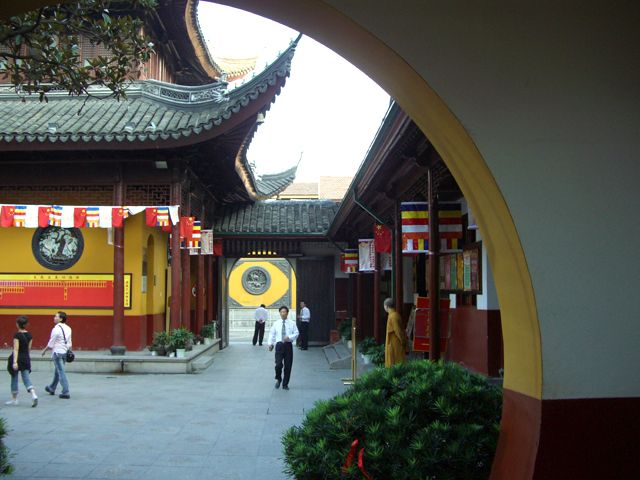Zdj�cia: Shanghai, �wi�tynia Jadeitowego Buddy, CHINY