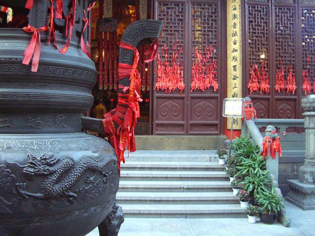 Zdjęcia: Shanghai, świątynia Jadeitowego Buddy, CHINY