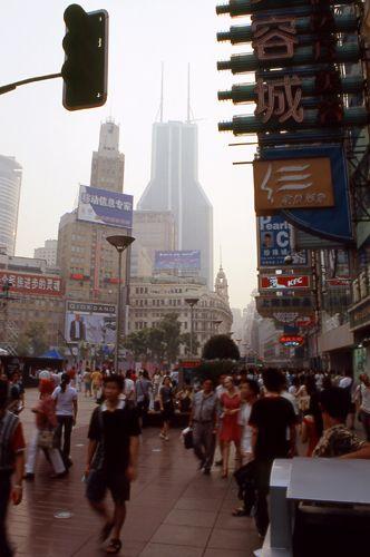 Zdj�cia: Shanghai, Ludzi jak mr�wk�w, CHINY
