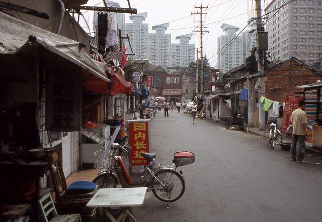 Zdjęcia: Shanghai, Stara zabudowa miasta, ktaóra niebawem zniknie, CHINY