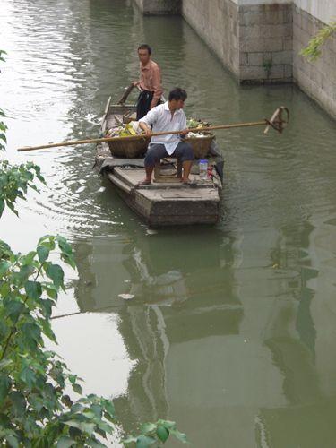 Zdjęcia: Suzhou, kanał w Wenecji Wschodu, CHINY
