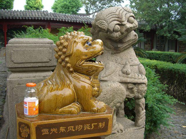 Zdjęcia: Suzhou, Komercja, Kicz, Sztuka - wszechobecne, CHINY