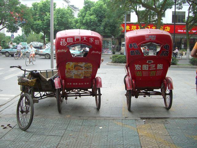 Zdjęcia: Suzhou, Riksze w Suzhou, CHINY