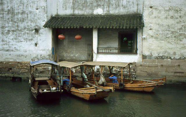Zdj�cia: Suzhou, kana�y Suzhou - Miasta-Ogrodu, CHINY