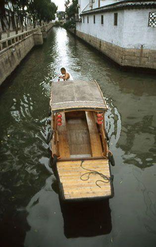 Zdjęcia: Suzhou, kanały Suzhou - Miasta-Ogrodu, CHINY