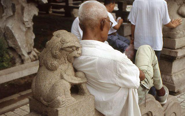 Zdjęcia: Suzhou, te drapieżne kamienne maszkarony!, CHINY
