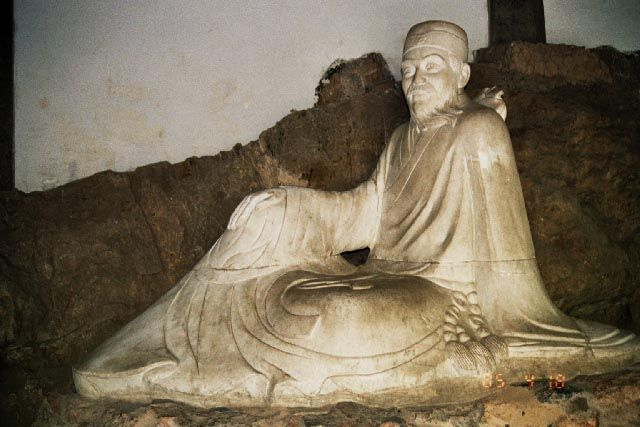 Zdjęcia: Luoyang, Henan, Grobowiec poety Bai Juysa, CHINY