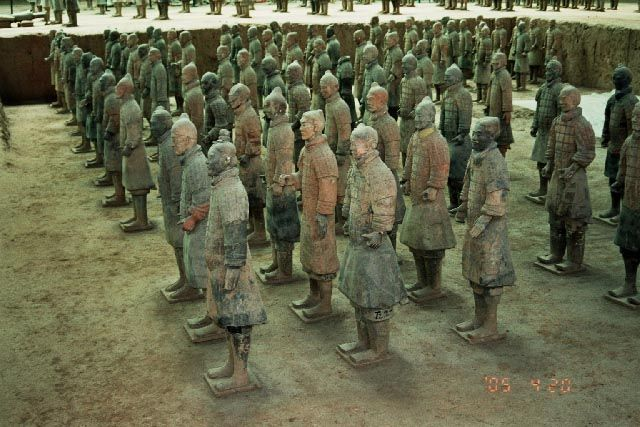 Zdjęcia: X'ian, Shaanxi, Armia Terakotowa, CHINY