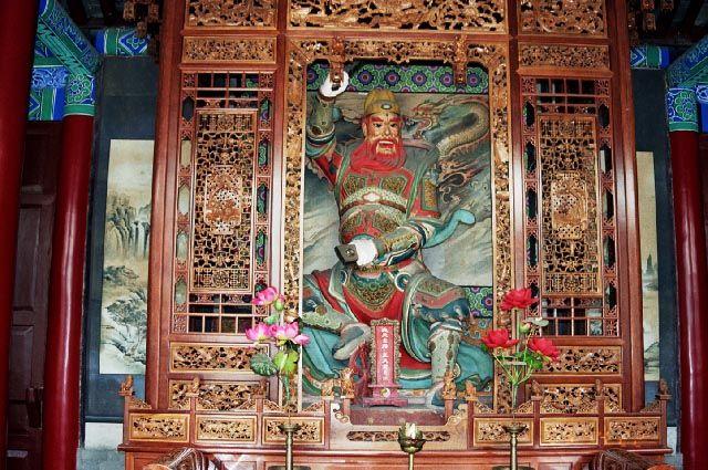 Zdj�cia: Xian, Shaanxi, �wi�tynia O�miu Nie�miertelnych, CHINY