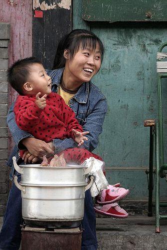 Zdjęcia: Pingyao, Stare Miasto, Mieszkańcy Pingyao, CHINY