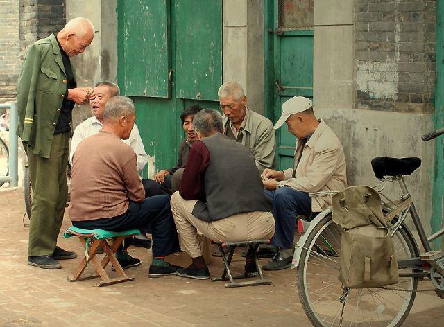 Zdjęcia: Pingyao, Mieszkańcy Pingyao, CHINY