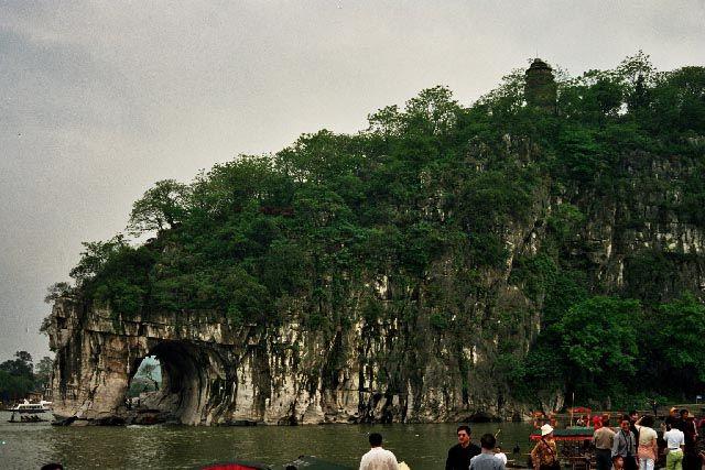 Zdjęcia: Guilin, Guangxi, Wzgórze Trąby Słoniowej, CHINY