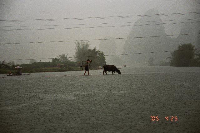 Zdj�cia: rzeka Yulong, Guangxi, sp�yw, CHINY