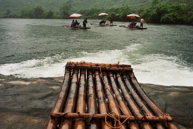 Zdjęcia: rzeka Yulong, Guangxi, spływ, CHINY
