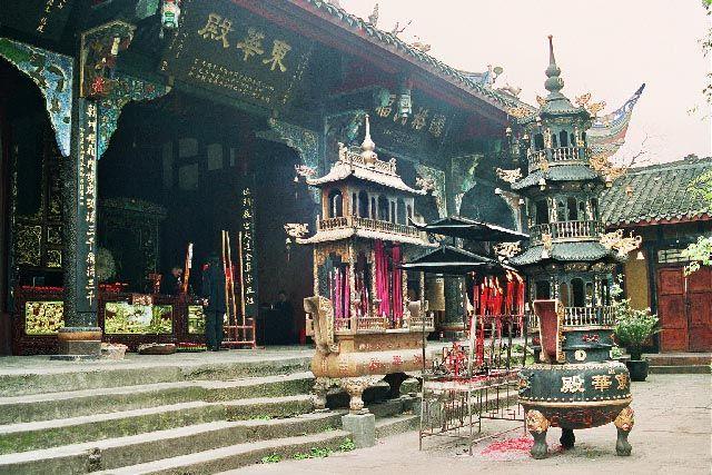 Zdjęcia: Qingcheng Shan, Syczuan, Shang Qing Palace, CHINY