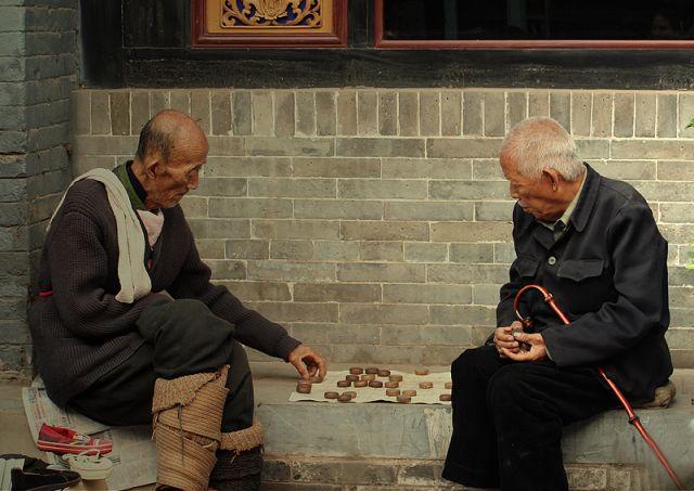 Zdjęcia: CHINY, powszechny widok na chinskich uliczkach, CHINY