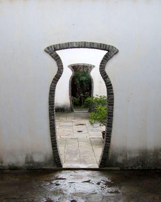 Zdjęcia: Drzwi w jednym z pięknych w tym mieście ogrodów, Suzhou, Drzwi świata/zdjęcie konkursowe, CHINY