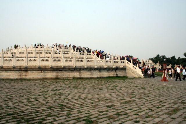 Zdjęcia: PEKIN, Ołtarz w Parku Świątyni Nieba, CHINY