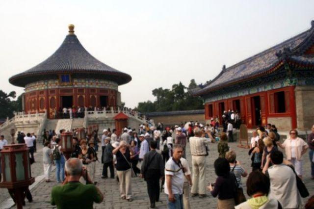Zdjęcia: PEKIN, W Parku Świątyni Nieba. , CHINY