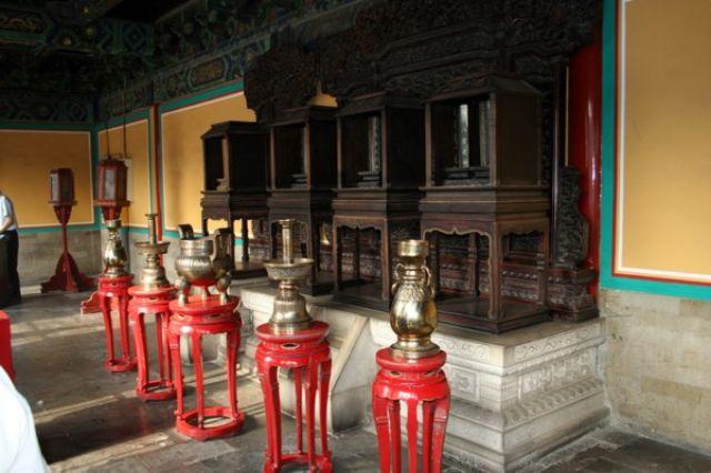 Zdjęcia: PEKIN, Wnętrze świątyni Nieba., CHINY
