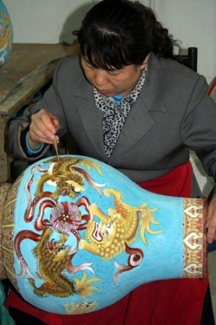 Zdjęcia: PEKIN, W fabryce wazonów #2, CHINY