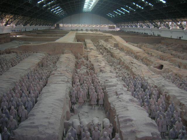 Zdj�cia: okolice Xianu, Terakotowa Armia, CHINY