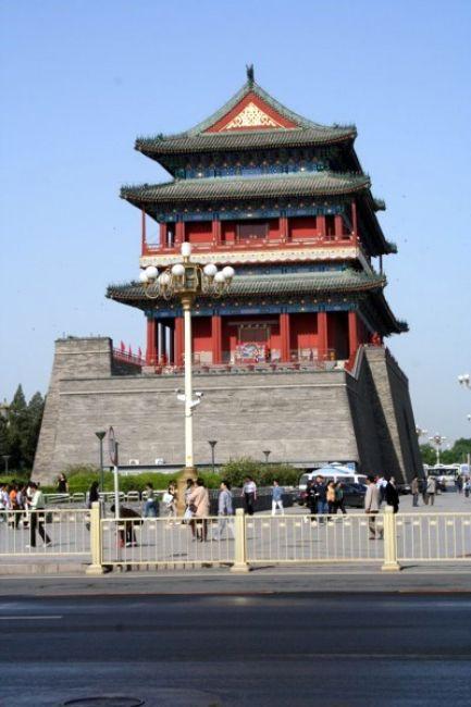 Zdjęcia: PEKIN, Przy placu Tiananmen, CHINY