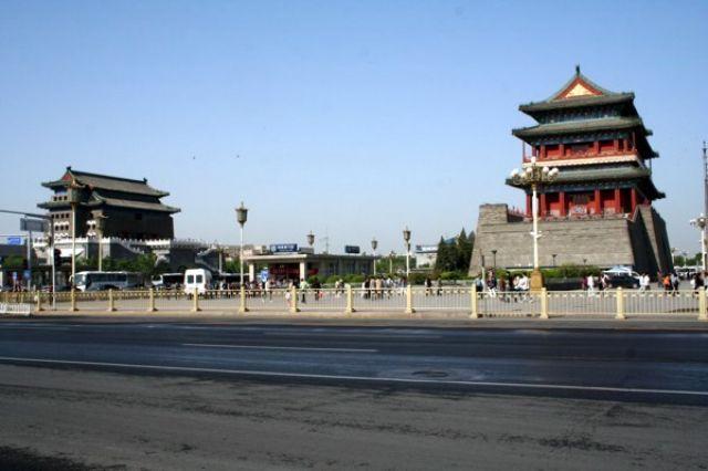 Zdjęcia: PEKIN, Przy palacu Tiananmen #2, CHINY