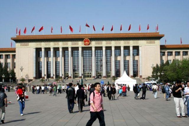 Zdjęcia: PEKIN, Plac Tiananmen - Wielka Hala Ludowa, CHINY