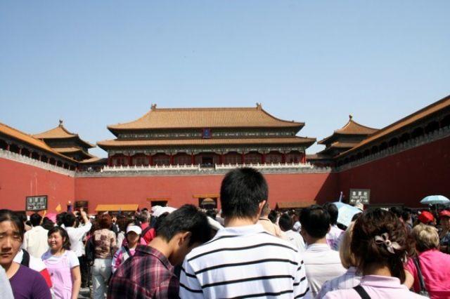 Zdjęcia: PEKIN, Wejście do Zakazanego Miasta, CHINY