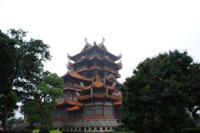 Zdj�cia: Fuzhou, Gongye Road, Xichan Buddhist Temple, CHINY