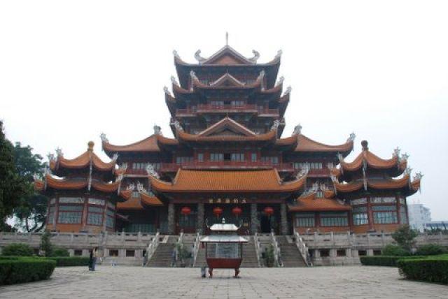 Zdjęcia: Gongye Road, Fuzhou, Xichan Buddhist Temple, CHINY