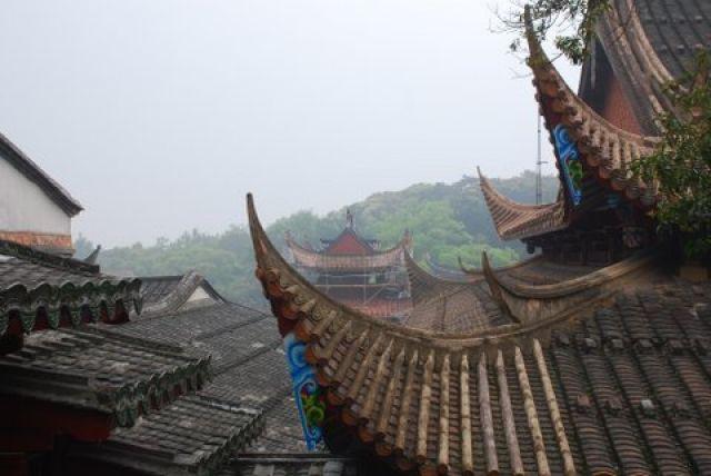 Zdj�cia: Fuzhou, Gushan, Gushan Yongquanshi Temple, CHINY