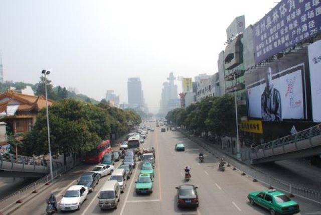 Zdjęcia: Gu Tian Road, Fuzhou, Fuzhou - miasto bez przeszlosci, CHINY