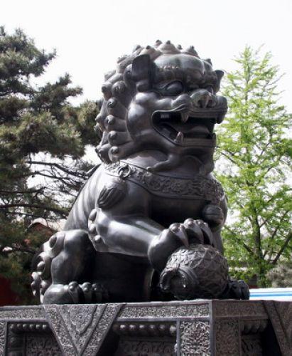 Zdjęcia: Pekin, Strażnik świątyni, CHINY