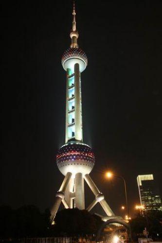 Zdjęcia: Shanghai, Wieża telewizyjna, CHINY