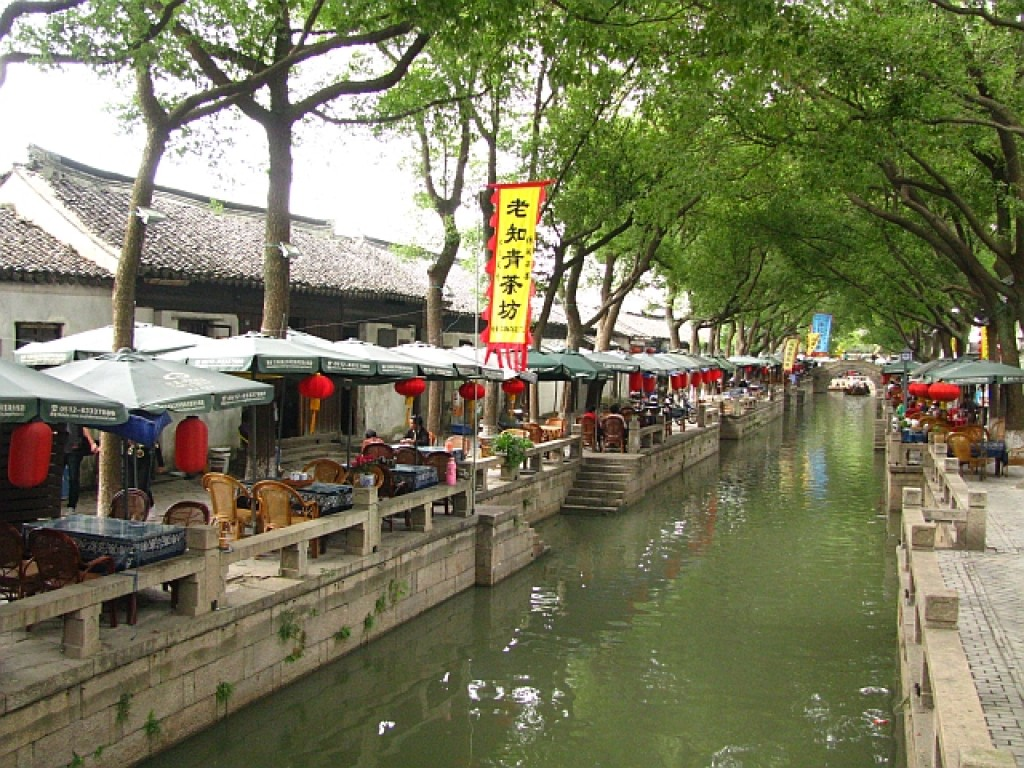 Zdjęcia: Tongli, prowincja Jiangsu, Tongli - miasto na wodzie, CHINY