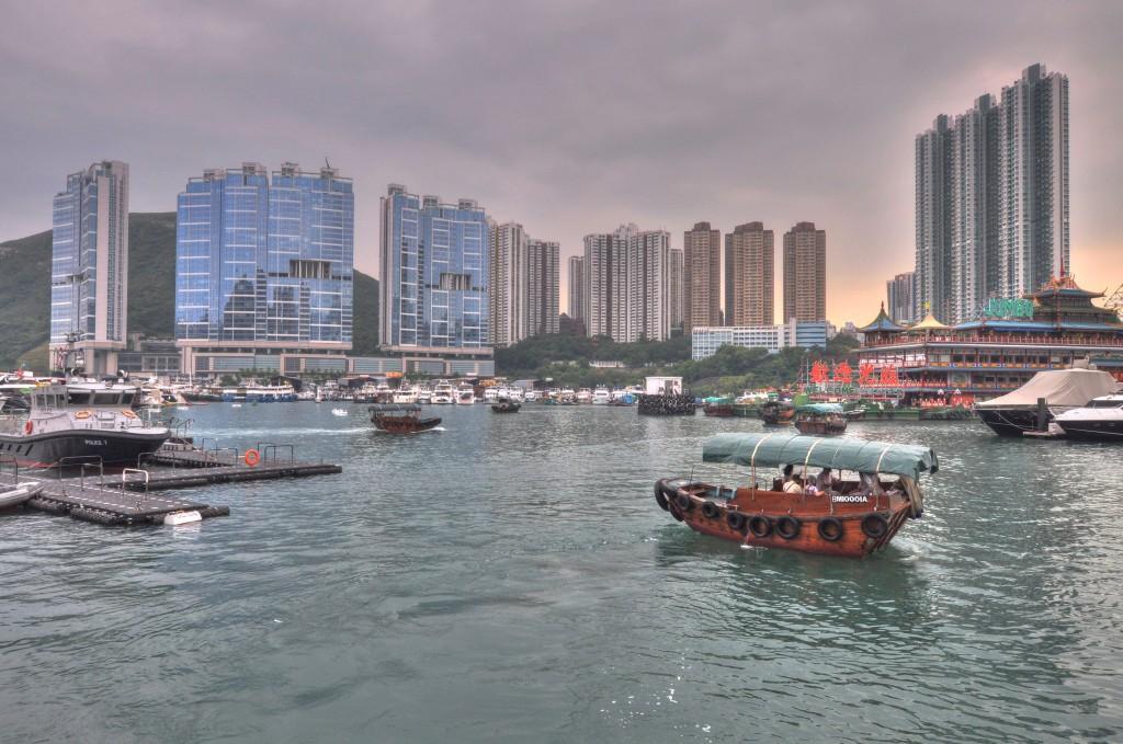 Zdjęcia: Hongkong, Hongkong, Sampan, CHINY