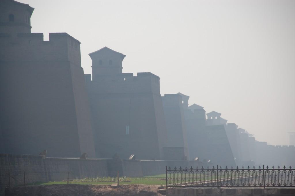 Zdjęcia: Pingyao, Shanxi, Mury obronne otaczające starą część Pingyao, CHINY