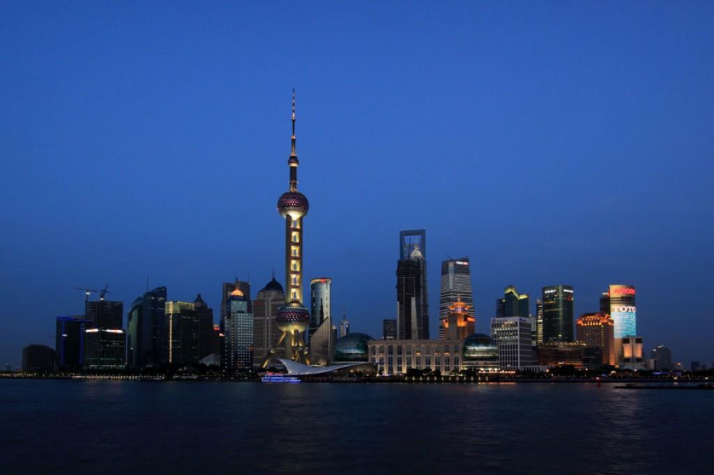 Zdjęcia: The bund, Shanghai, CHINY