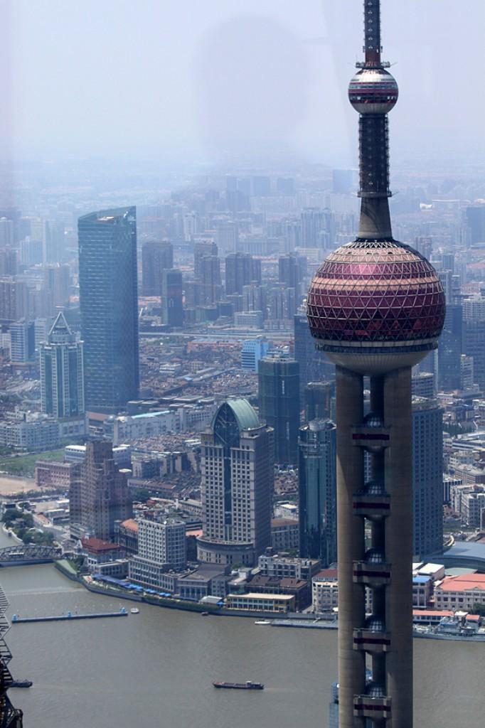 Zdjęcia: Pudong, Shanghai, Oriental Pearl Tower, CHINY