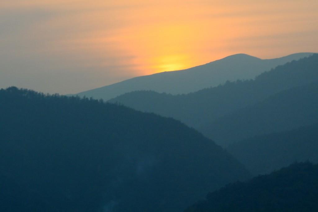 Zdjęcia: okolice Guilin, Kuangsi, zachodzik, CHINY