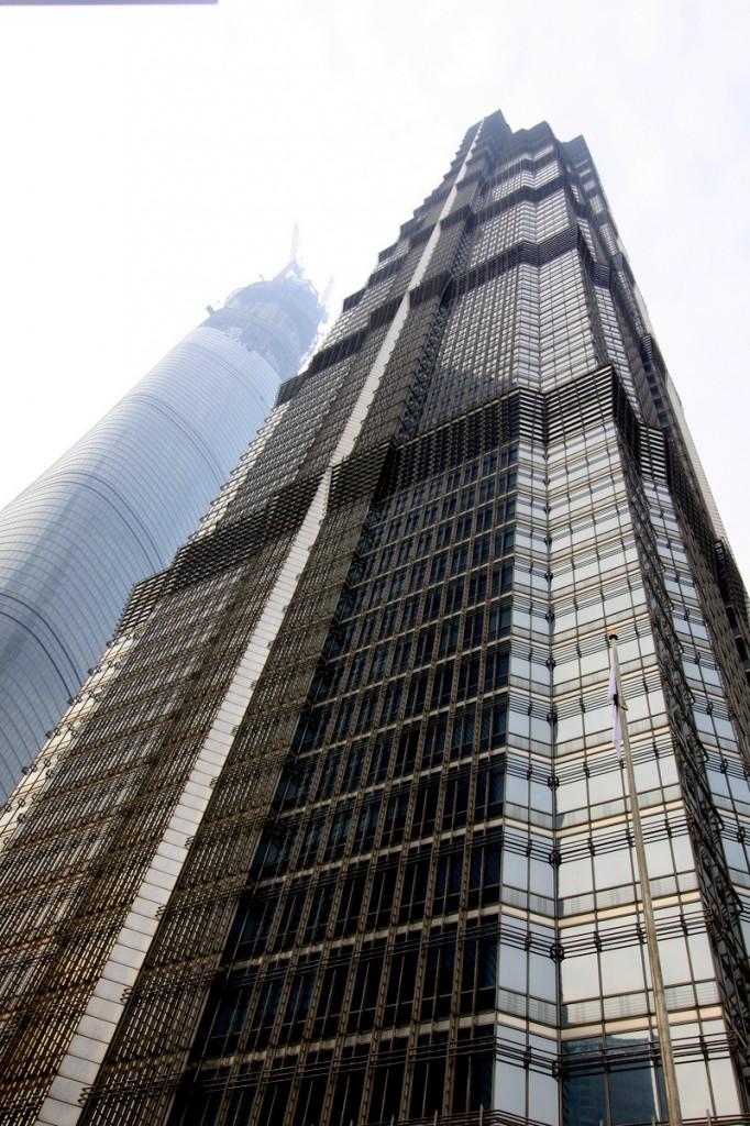 Zdjęcia: Pudong, Shanghai, Jin Mao Tower i Shangai Tower, CHINY